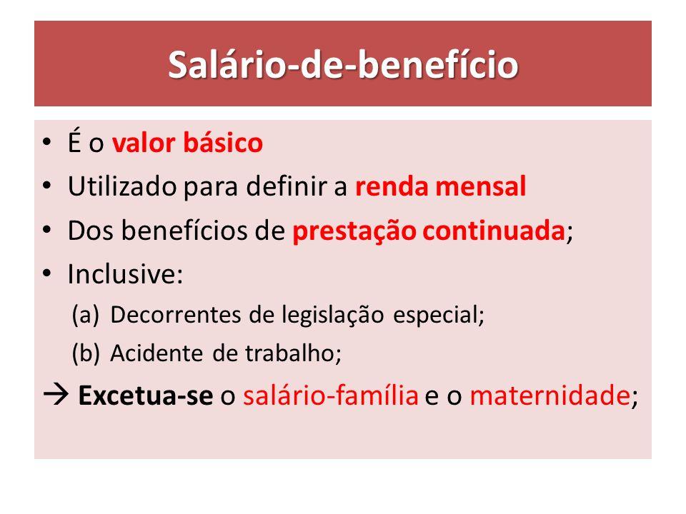 Salário-de-benefício