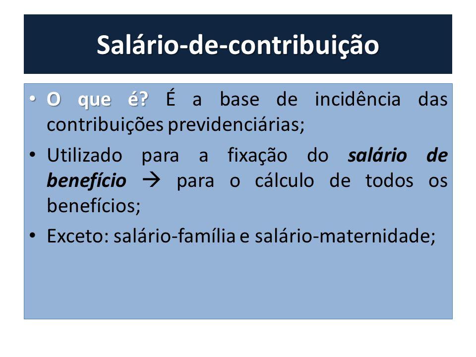 Salário-de-contribuição