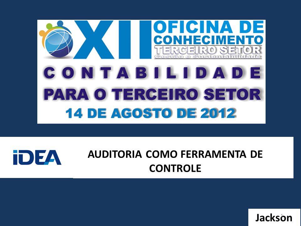 AUDITORIA COMO FERRAMENTA DE CONTROLE