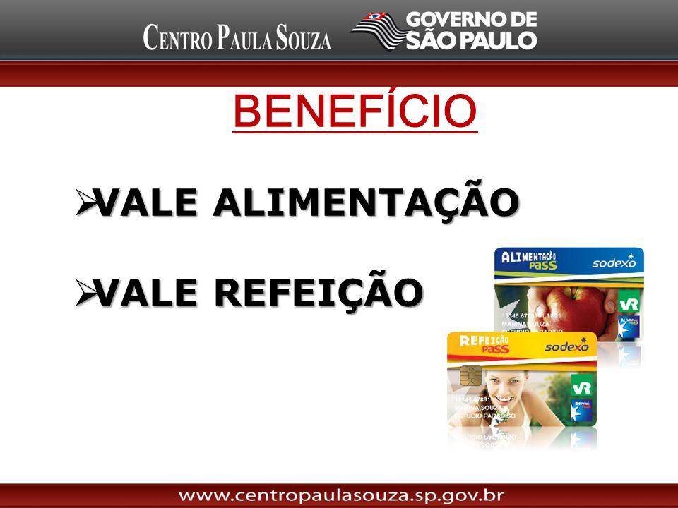 BENEFÍCIO VALE ALIMENTAÇÃO VALE REFEIÇÃO