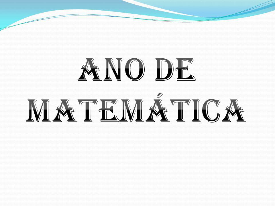 Ano de Matemática