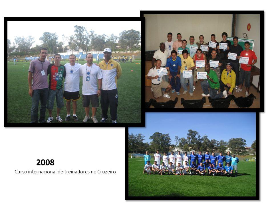 2008 Curso internacional de treinadores no Cruzeiro