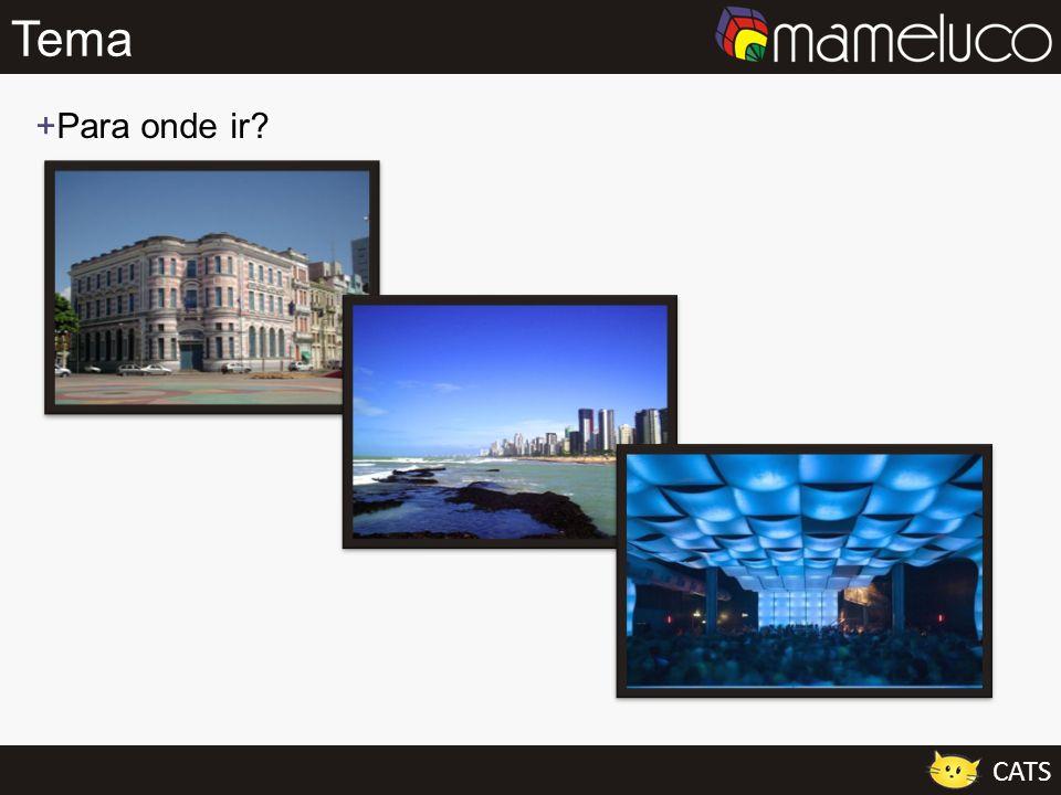 Tema Para onde ir Aqui mesmo na cidade do Recife podemos perceber essa variedade de opções de lazer.