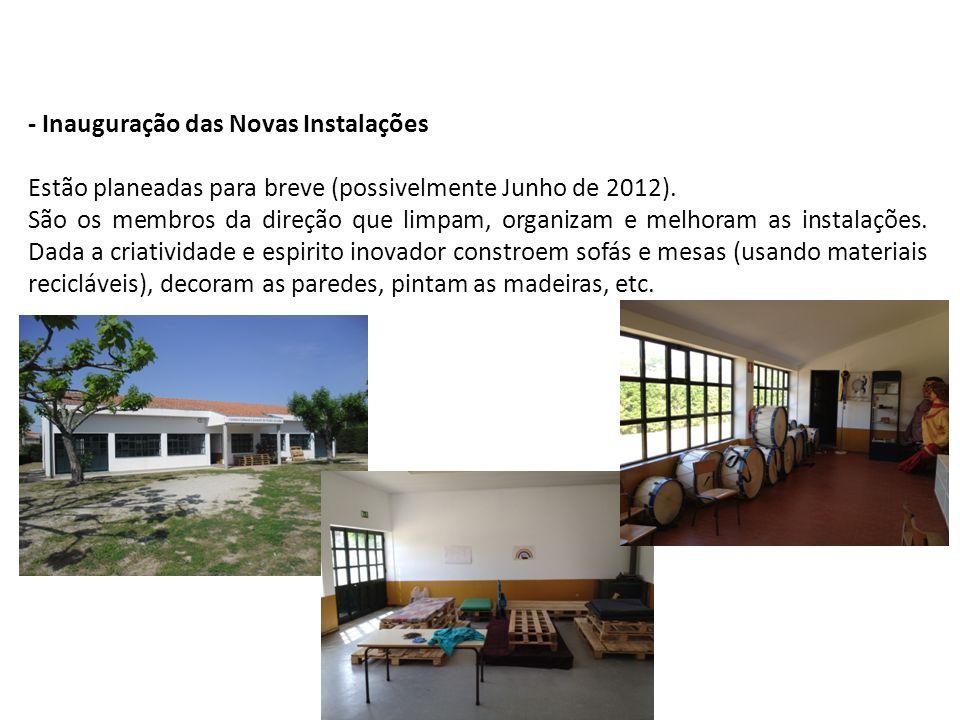 - Inauguração das Novas Instalações