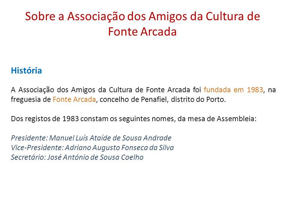 Sobre a Associação dos Amigos da Cultura de Fonte Arcada