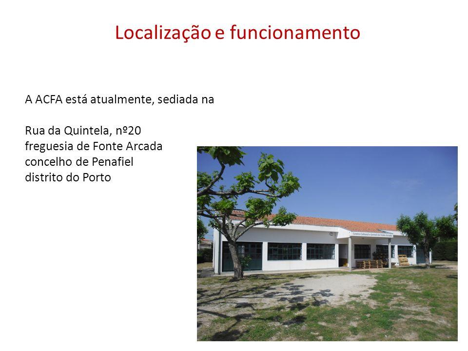 Localização e funcionamento