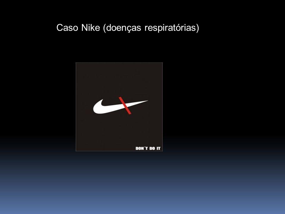 Caso Nike (doenças respiratórias)
