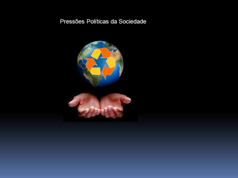 Pressões Políticas da Sociedade
