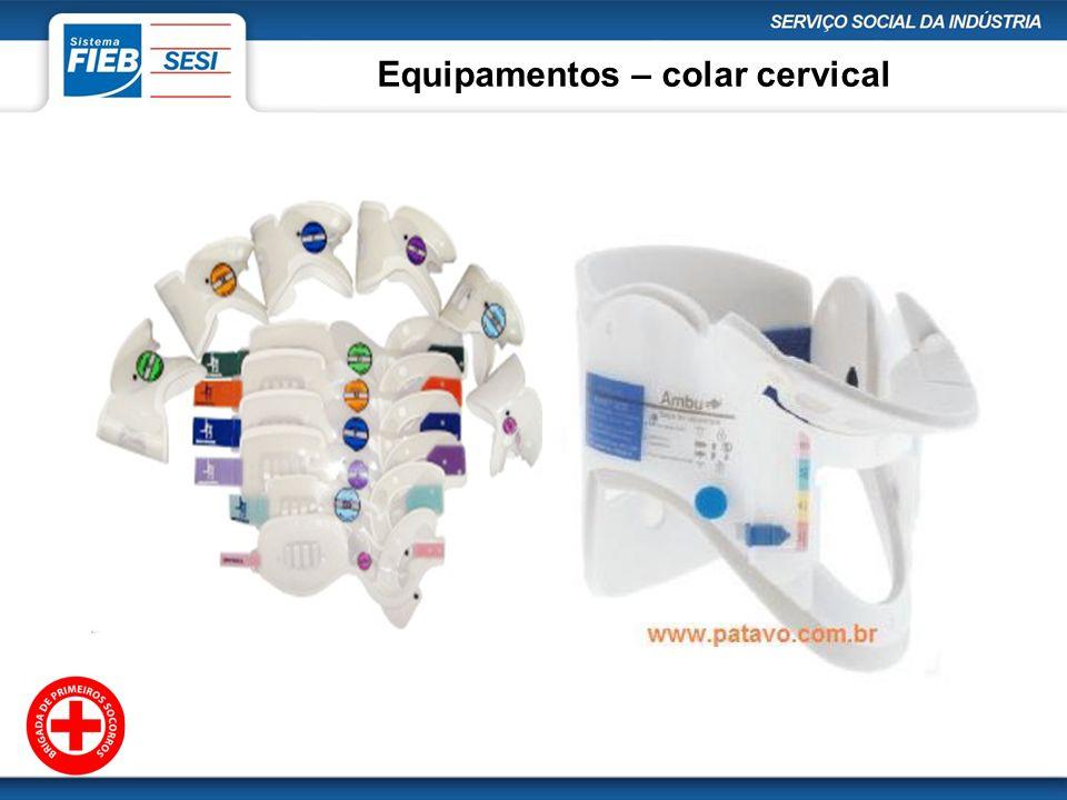 Equipamentos – colar cervical