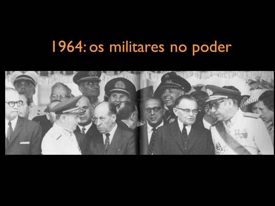 1964: os militares no poder