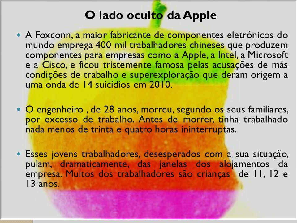 O lado oculto da Apple