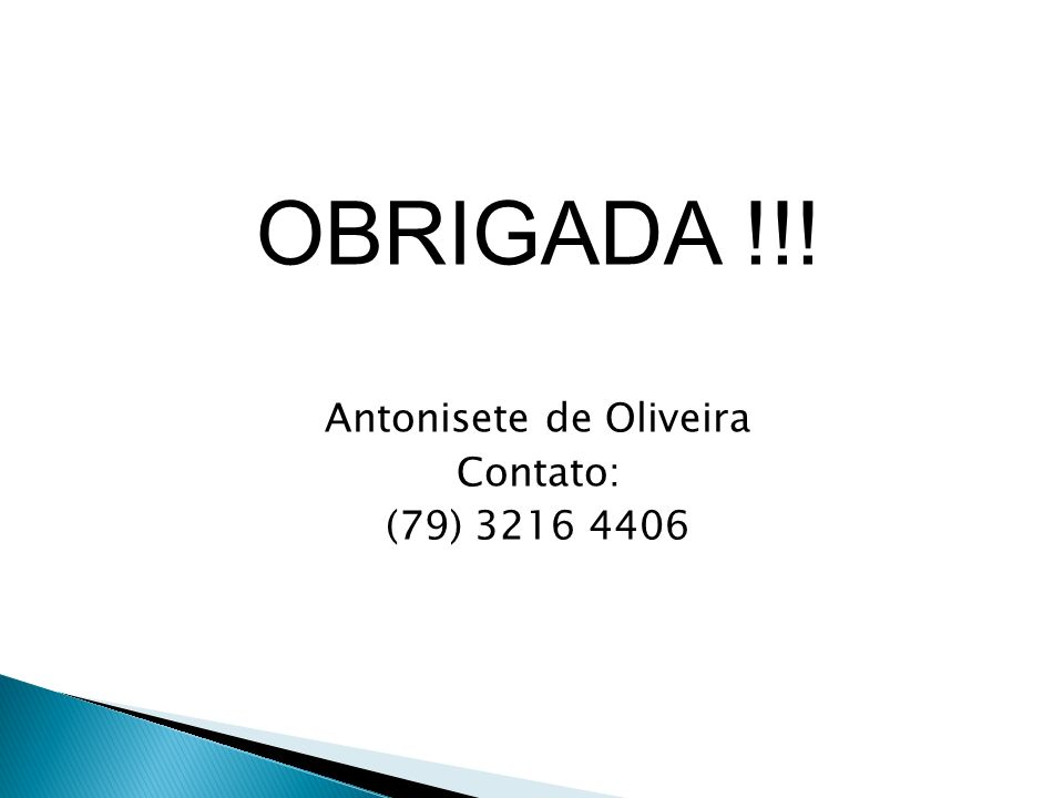 Antonisete de Oliveira