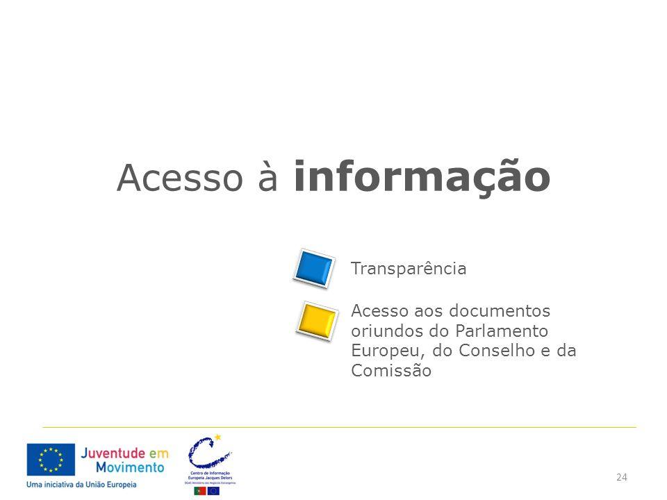 Acesso à informação Transparência