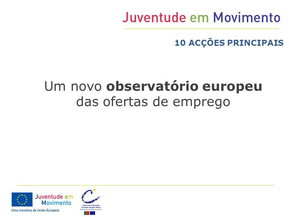 Um novo observatório europeu das ofertas de emprego