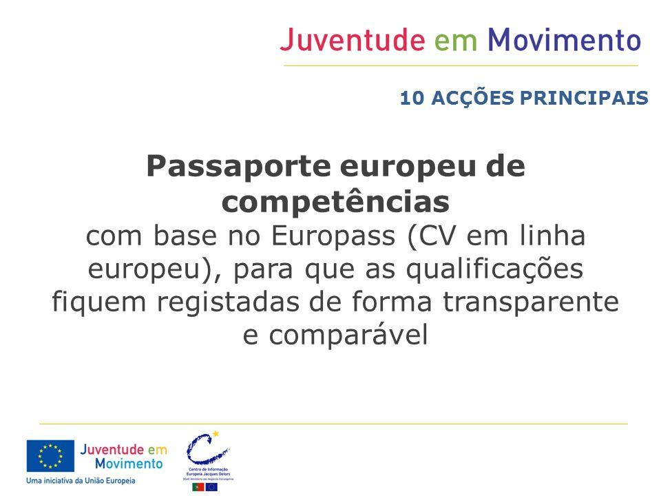 Passaporte europeu de competências