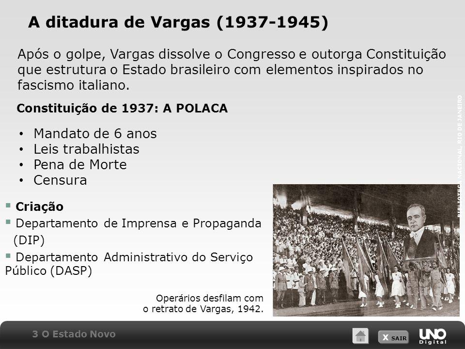 A ditadura de Vargas (1937-1945)