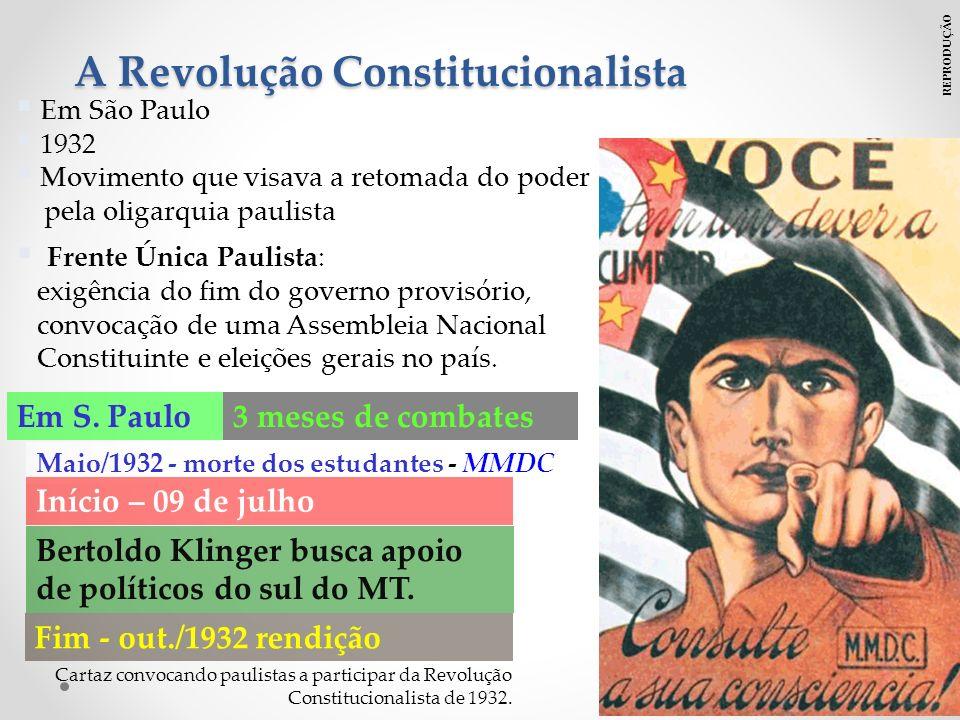 A Revolução Constitucionalista