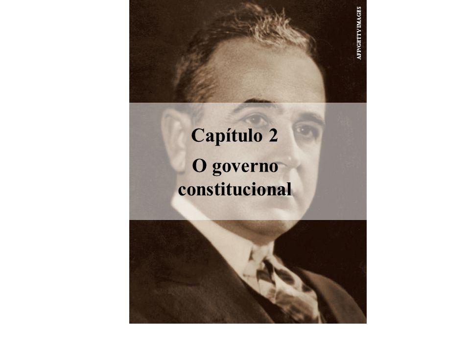 O governo constitucional