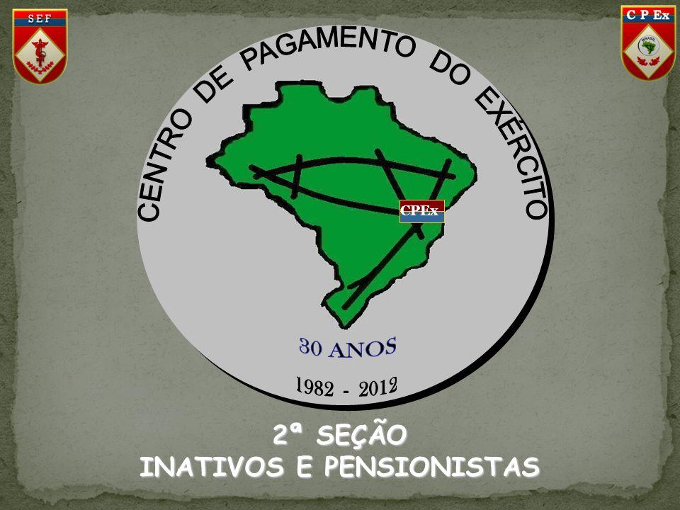 INATIVOS E PENSIONISTAS