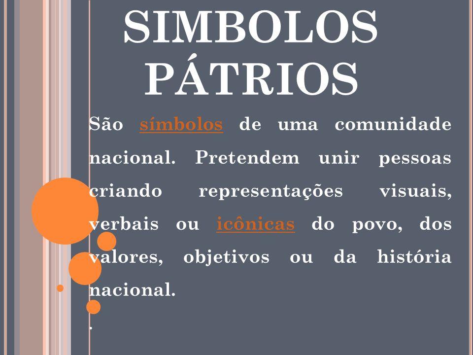 SIMBOLOS PÁTRIOS