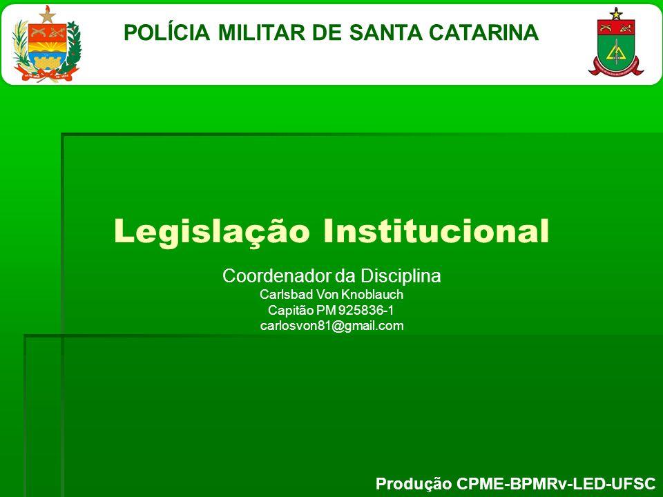 Legislação Institucional