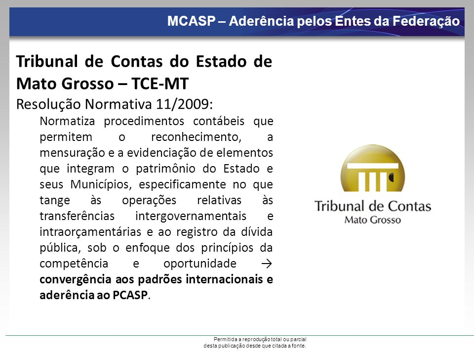 Tribunal de Contas do Estado de Mato Grosso – TCE-MT