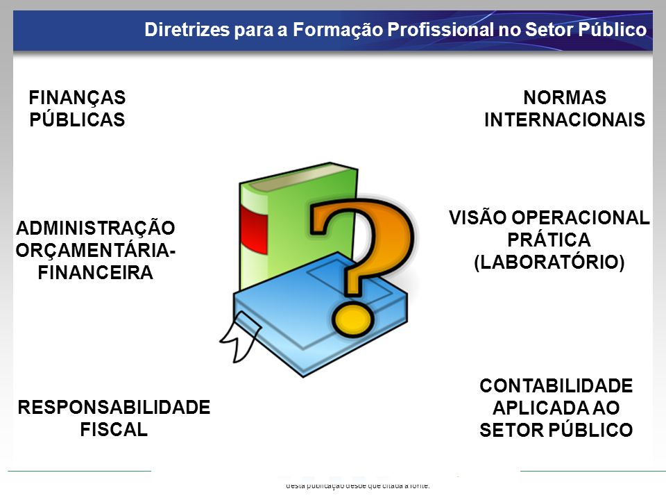 Diretrizes para a Formação Profissional no Setor Público