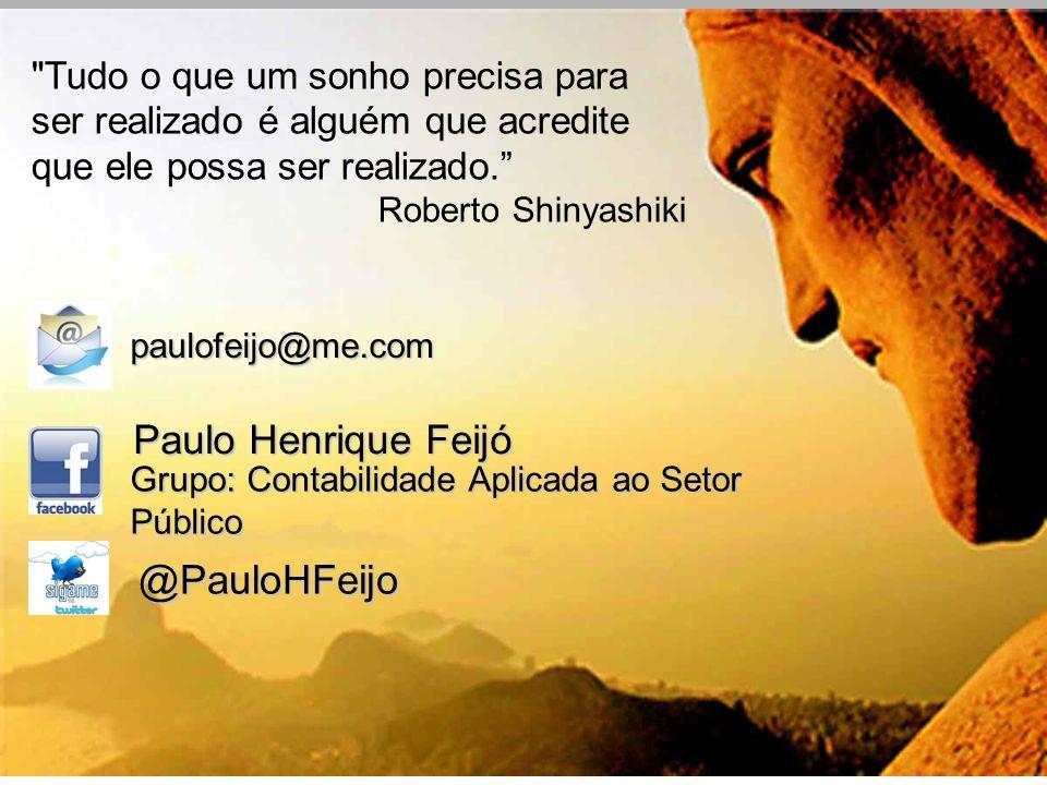 Paulo Henrique Feijó @PauloHFeijo