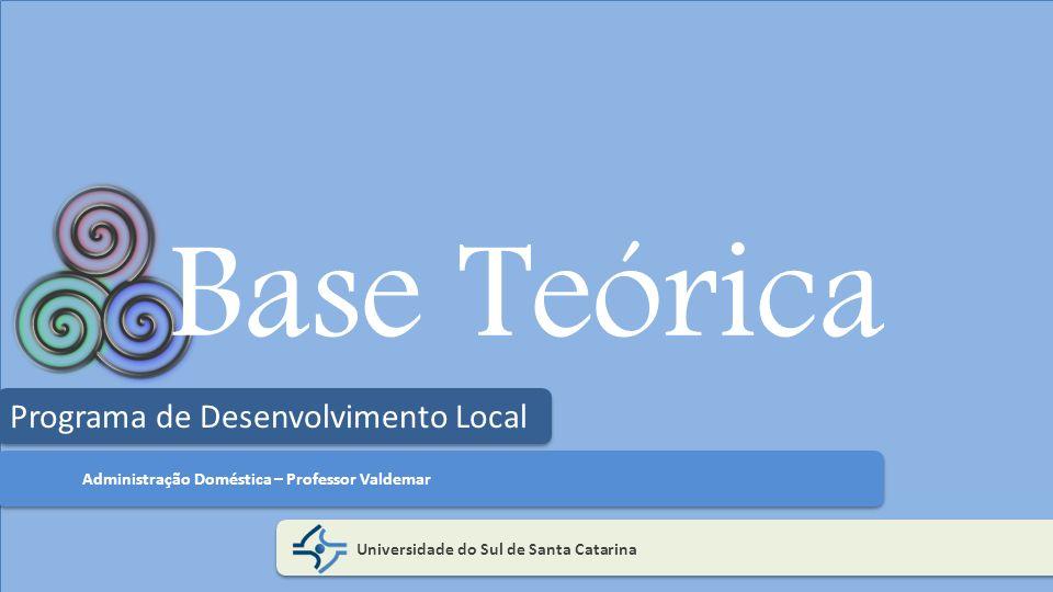 Base Teórica Programa de Desenvolvimento Local