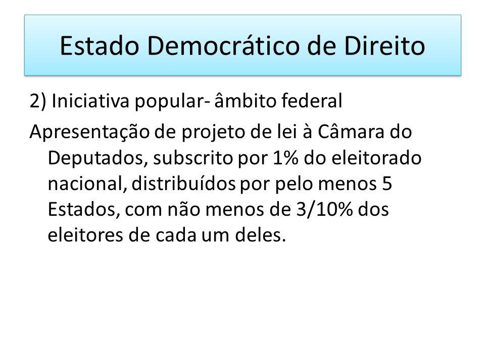 Estado Democrático de Direito