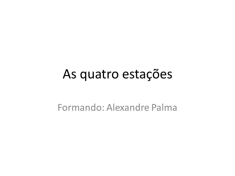 Formando: Alexandre Palma