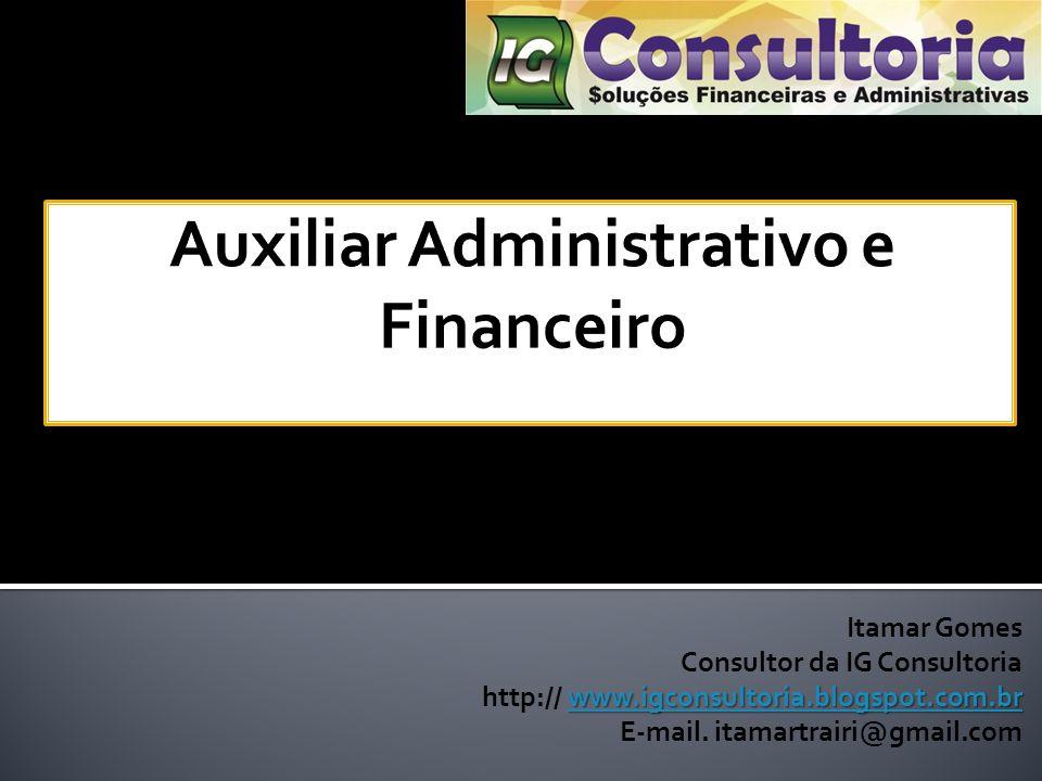 Auxiliar Administrativo e Financeiro