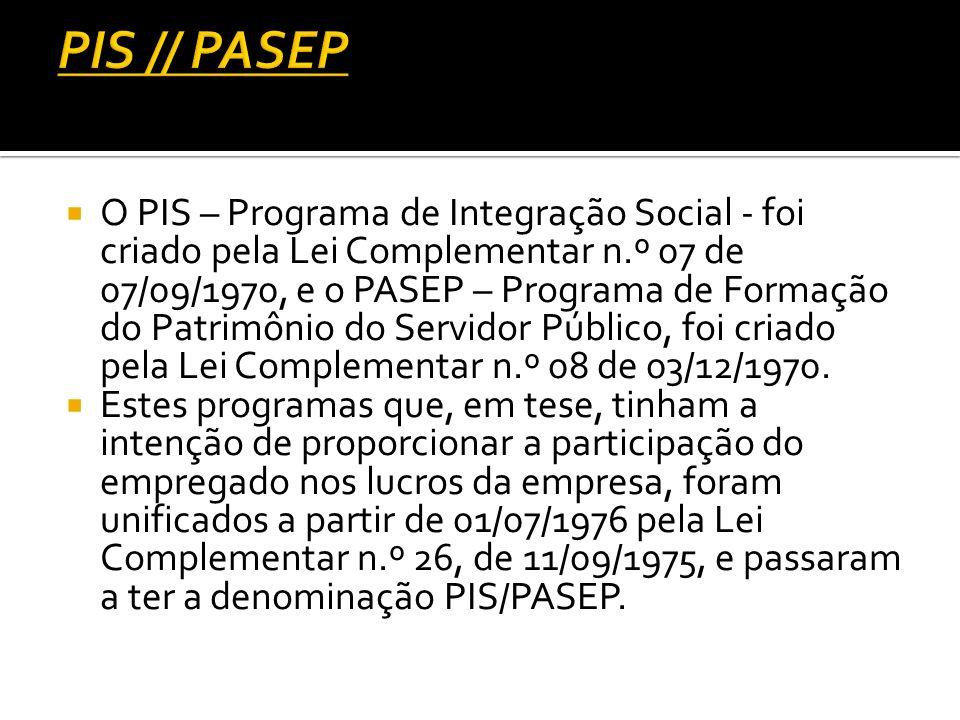 PIS // PASEP