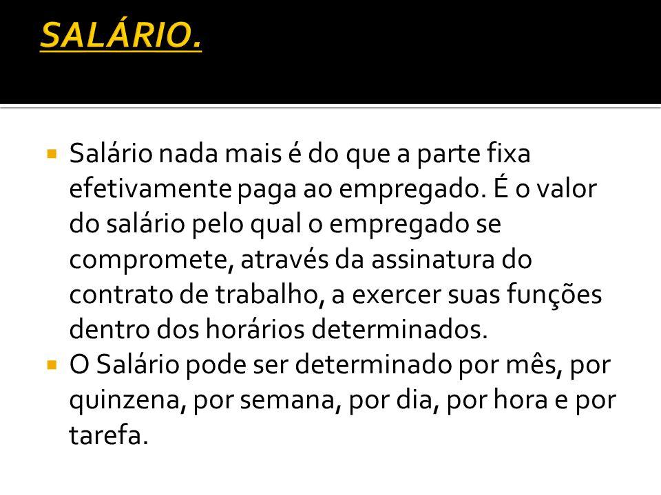 SALÁRIO.