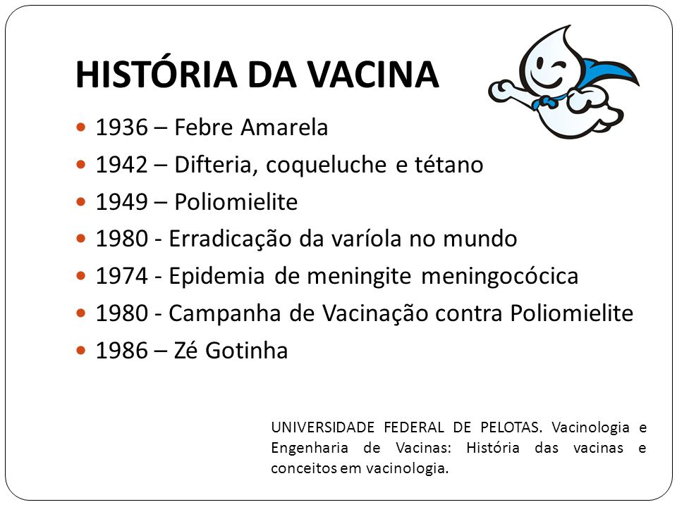 HISTÓRIA DA VACINA 1936 – Febre Amarela