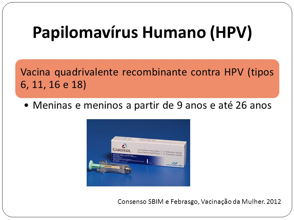 Papilomavírus Humano (HPV)