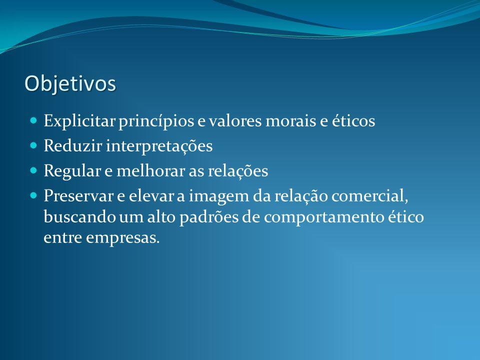 Objetivos Explicitar princípios e valores morais e éticos