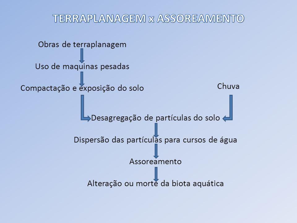 TERRAPLANAGEM x ASSOREAMENTO