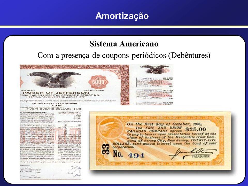 Com a presença de coupons periódicos (Debêntures)