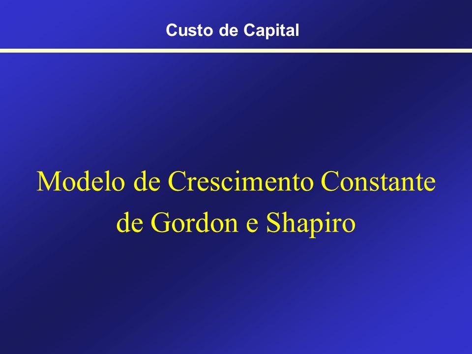 Modelo de Crescimento Constante