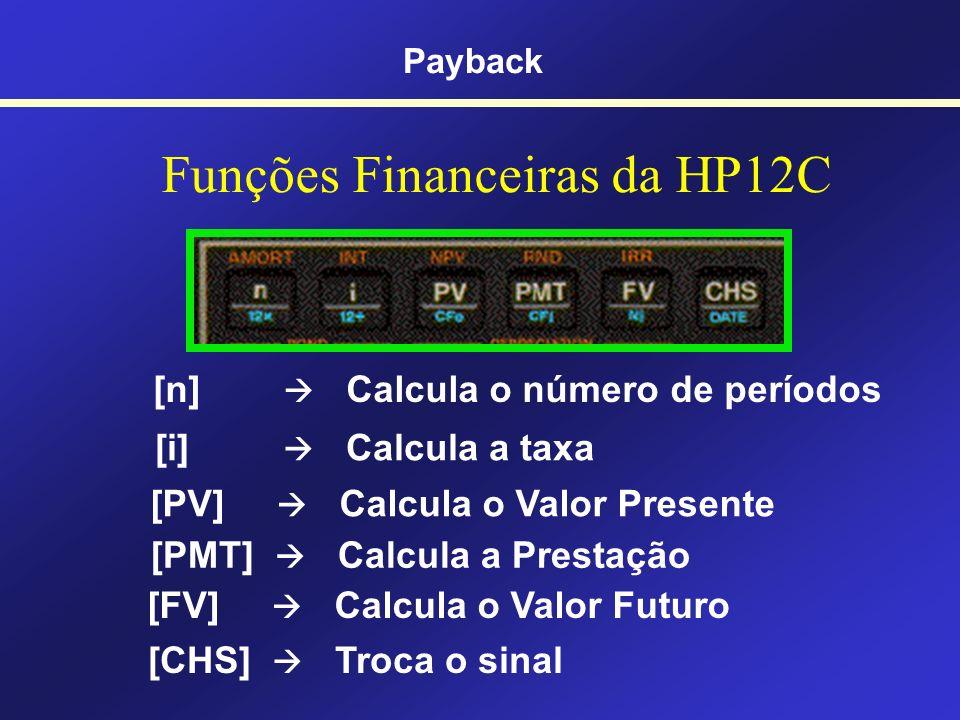 Funções Financeiras da HP12C