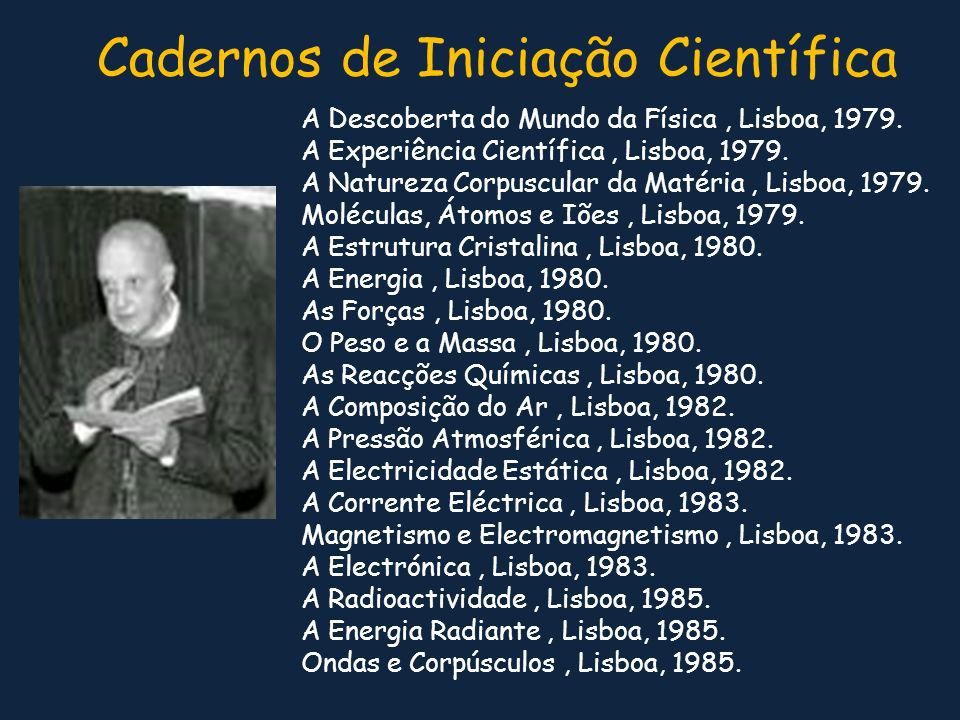 Cadernos de Iniciação Científica