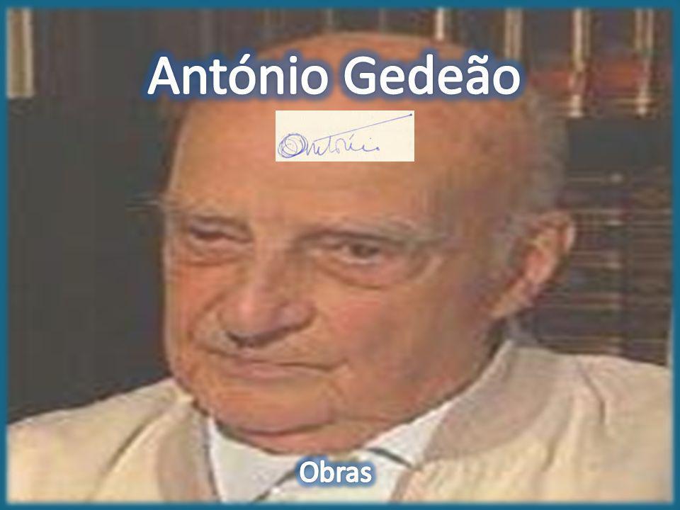 António Gedeão Obras