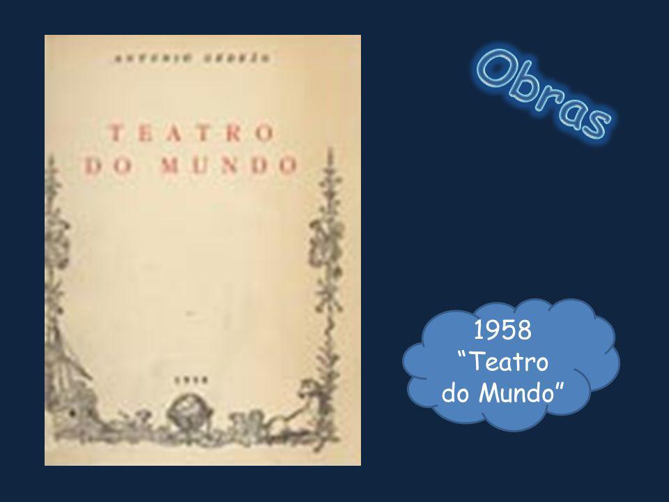 Obras 1958 Teatro do Mundo