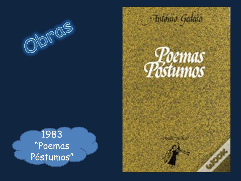 Obras 1983 Poemas Póstumos