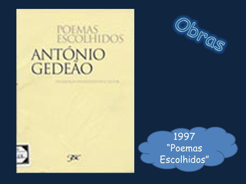 Obras 1997 Poemas Escolhidos