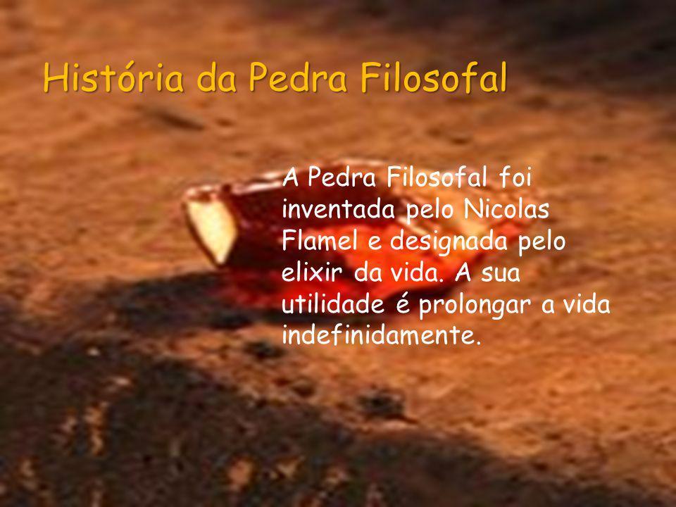 História da Pedra Filosofal
