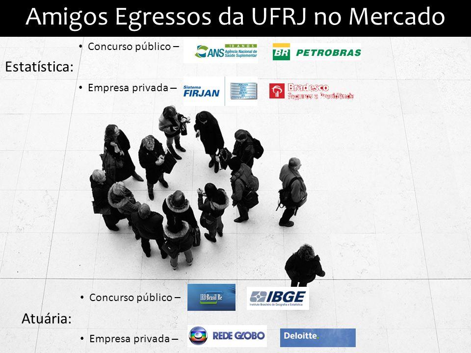 Amigos Egressos da UFRJ no Mercado