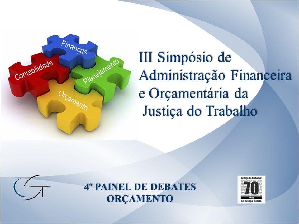 III Simpósio de Administração Financeira e Orçamentária da