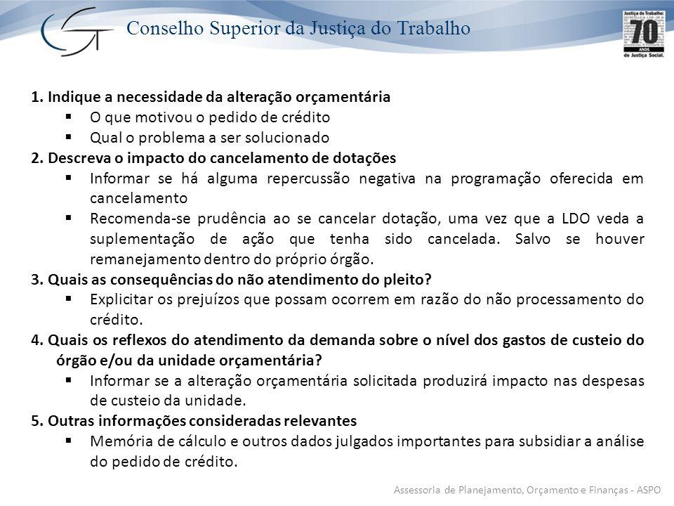 Assessoria de Planejamento, Orçamento e Finanças - ASPO